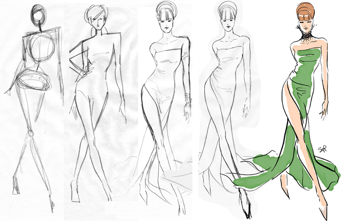 Fashion illustration how to 79