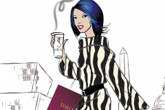 DC - fashion illustration - client project