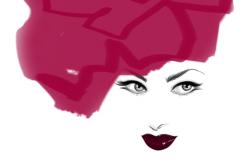 Pink Rose Chapeau